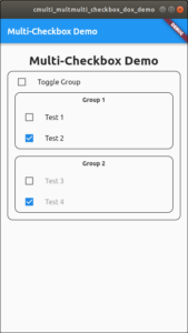Multi-Grouped Checkboxes